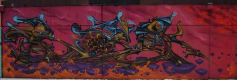Photo of urban art at The Hole